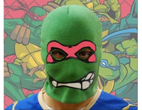 Teenage Mutant Ninja Mask Robber