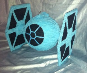 Star Wars TIE Fighter Pinata: Beat the Candy out of the Imperial Fleet