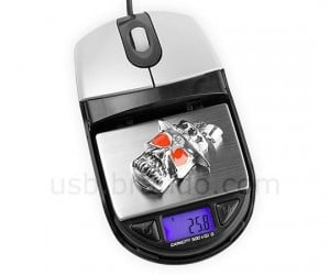 USB Optical Mouse With Digital Scale Good for Weighing Your Mouse Hand?