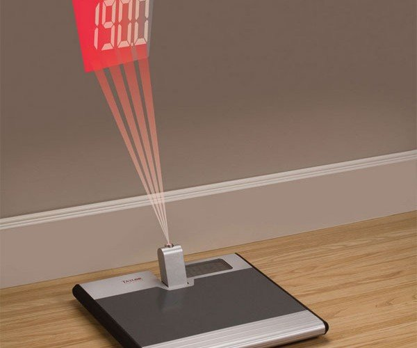 Wall Projection Scale for People Who Aren't Weight Conscious