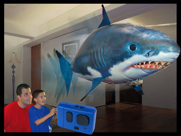 air swimmers remote controlled shark