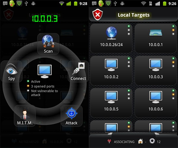Android Network Toolkit: Want to be a Hacker? There's an App for That