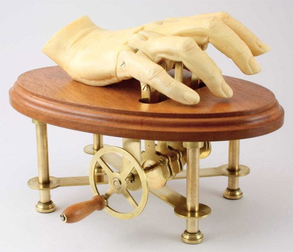 automaton hand mechanical hand 1