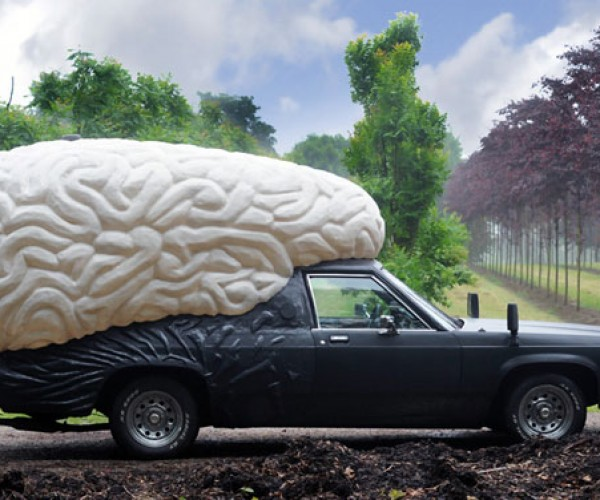Braincar Splatters its Grey Matter All Over the Road