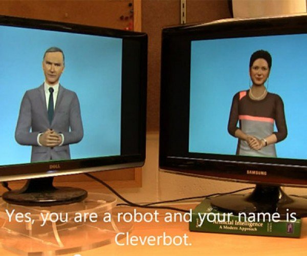 Two ChatBots Have a Conversation