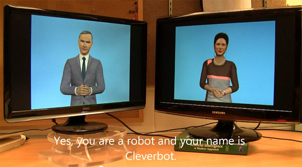 chatbot vs chatbot