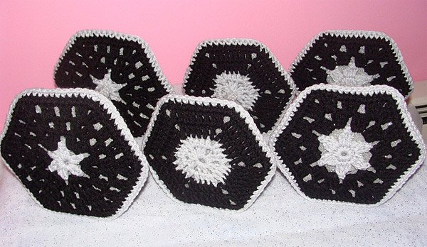 crocheted tie fighters 2