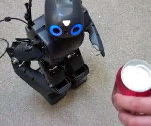 Darwin-OP Robot Likes Beer, Needs Counseling