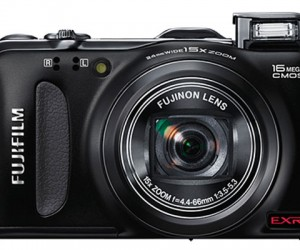 Fujifilm F600 EXR Digital Camera Packs 15x Optical Zoom