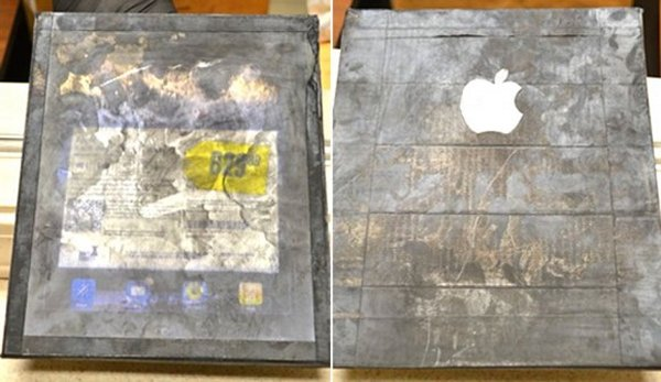 fake wood iPad