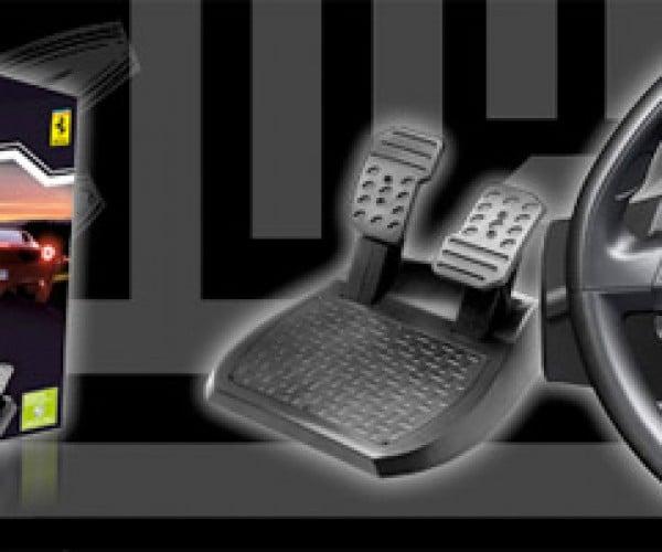 Thrustmaster Debuts Ferrari and Microsoft Licensed Xbox 360 Racing Wheel