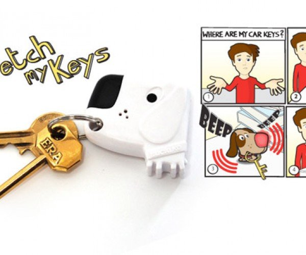 Fetch My Keys Finds Your Keys, Because Dogs Can't Be Bothered