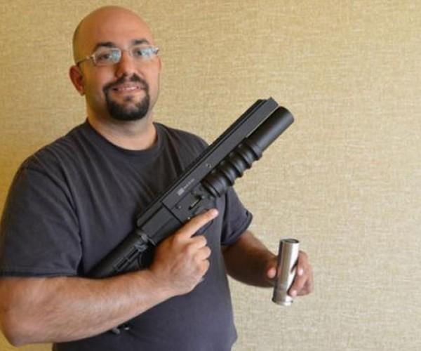 Geeks Hack Flare Gun into Camera Drone Launcher