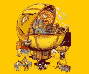 Ghost Eater 1 T-Shirt: Pac-Man Goes Steampunk