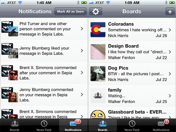 glassboard app