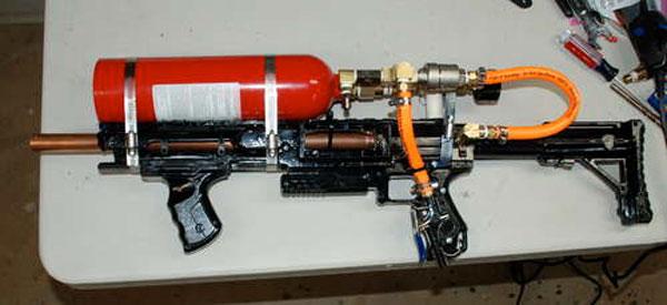 DIY Grappling Hook Gun
