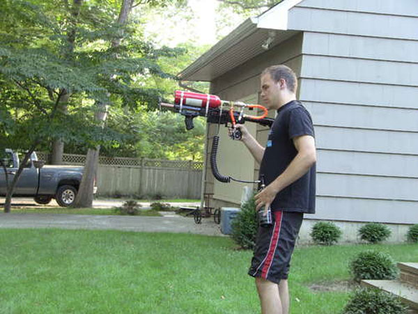 DIY Grappling Hook gun
