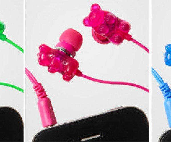 Gummi Bear Scented Earbuds: Music to Your Ears, Fragrance to Your Nose