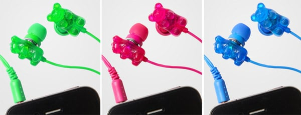 gummy bear scented earbuds