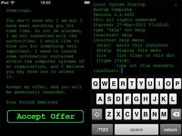 hack run iphone ipod ipad game by 1273 2