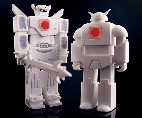 Incubot Shiroi USB Drives: Buy a Robot, Save Japan