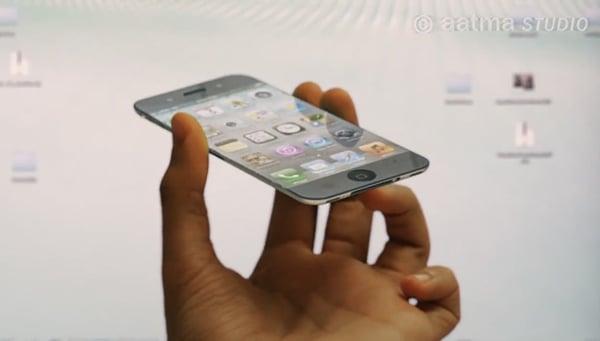 iphone 5 concept by aatma studio