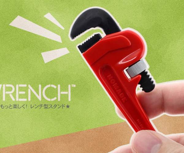 iWrench iPhone Stand Wrenches Your Phone Upright