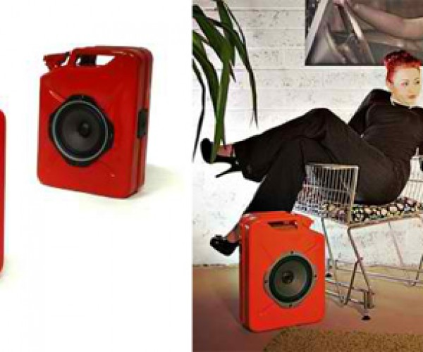 Jerrycan Gas Can Speakers Pump Up the Volume and Ignite the Crowd