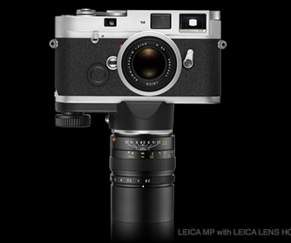 Leica Lens Holder M Turns Lens into Monopod