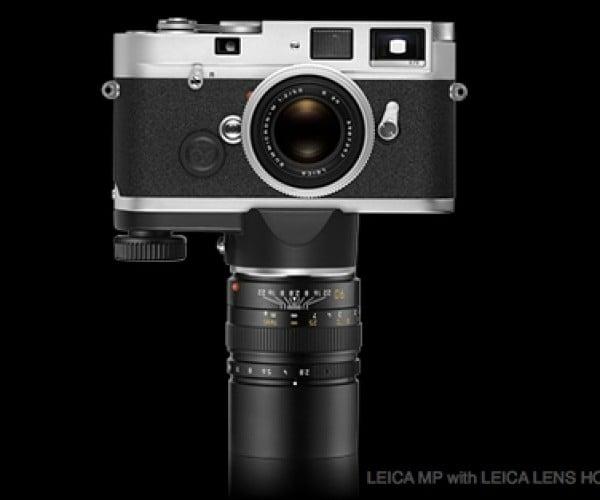 Leica Lens Holder M Turns Lens into Monopod