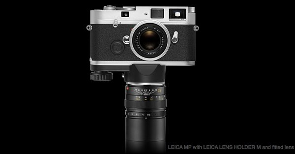 leica mp with leica lens holder m and lens