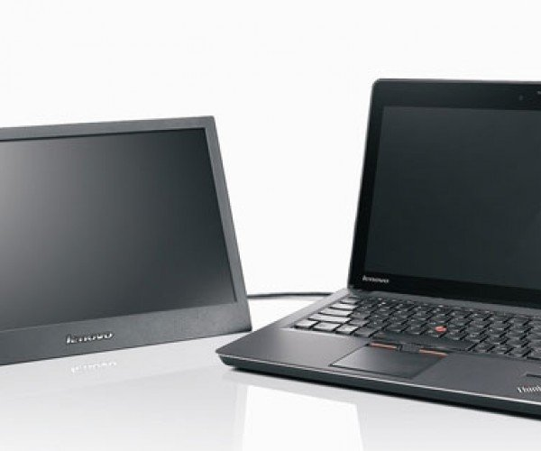 Lenovo ThinkVision LT1421 Adds Second LCD Display via USB