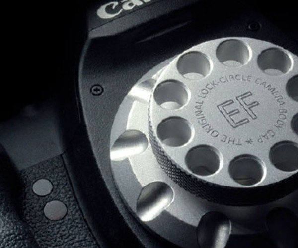 LockCircle Aluminum DSLR Cap: Expensive, for a Reason