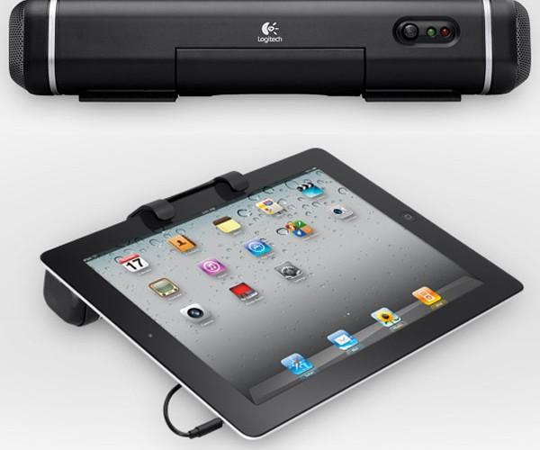Logitech Tablet Speaker Adds Sound, Bulk to iPads
