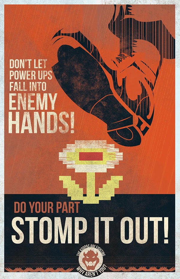mario propaganda posters by fro design co 3