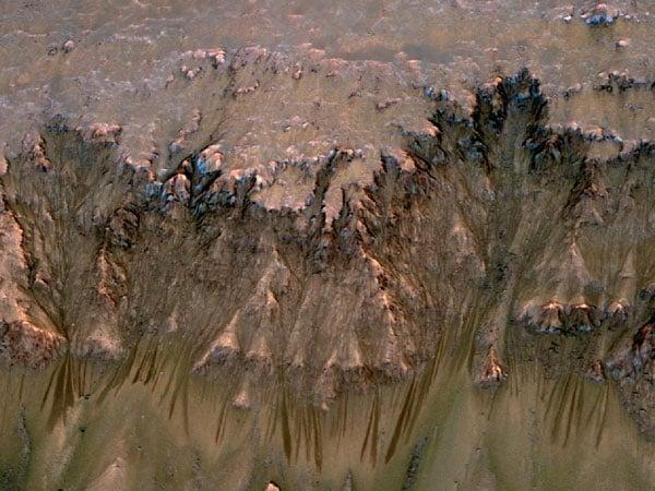 Flows on Mars