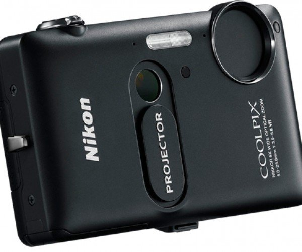 Nikon Coolpix S1200pj Digital Camera with Built-in Projector: Shoot and Show