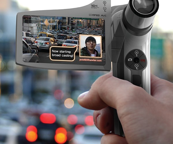 On Air Cam Concept: for Budding Field Reporters