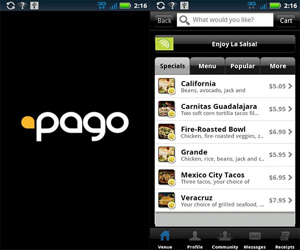 pago mobile android app