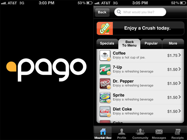 pago mobile iphone app