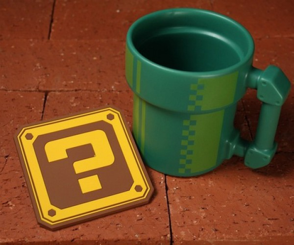 Pipe Mug Warps Your Thirst Away
