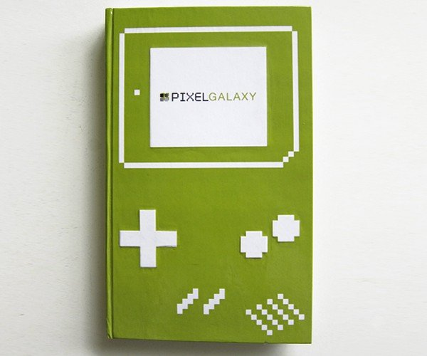 Pixel Galaxy Game Boy Book: Turn Page to Start