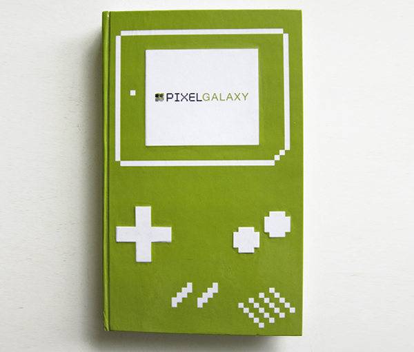 pixel galaxy gameboy book by sergio ingravalle