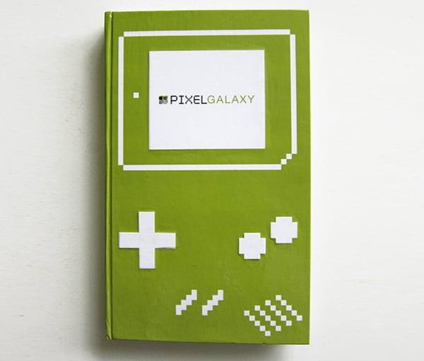 pixel galaxy gameboy book by sergio ingravalle