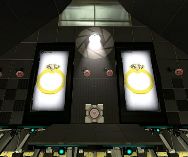 Portal 2 Proposal: The Wedding Cake is Not a Lie