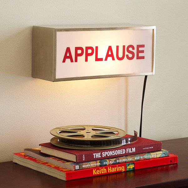 pottery barn teen applause light box