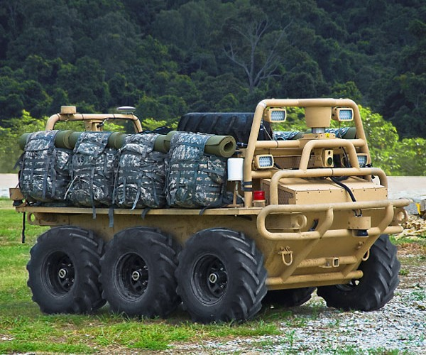 Army to Deploy Automated ATVs to Carry Packs and More in the Field