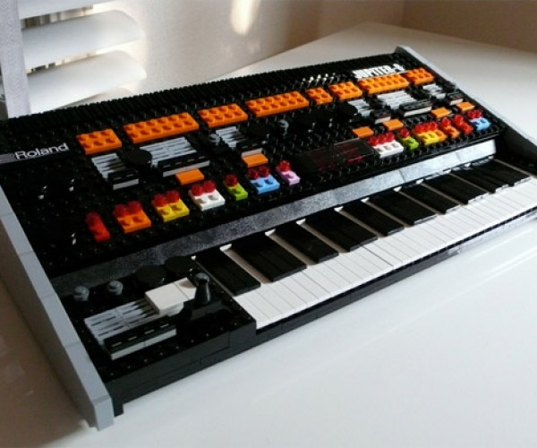 LEGO Roland Jupiter 8 Synth Won't Play Any Tunes, Still Awesome