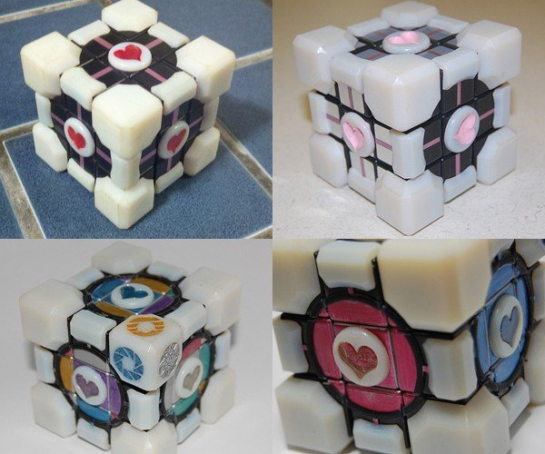 Rubik's Companion Cubes: Can't Solve These with Portals