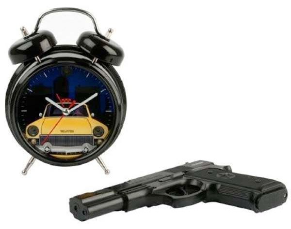 shoot the clock alarm clock